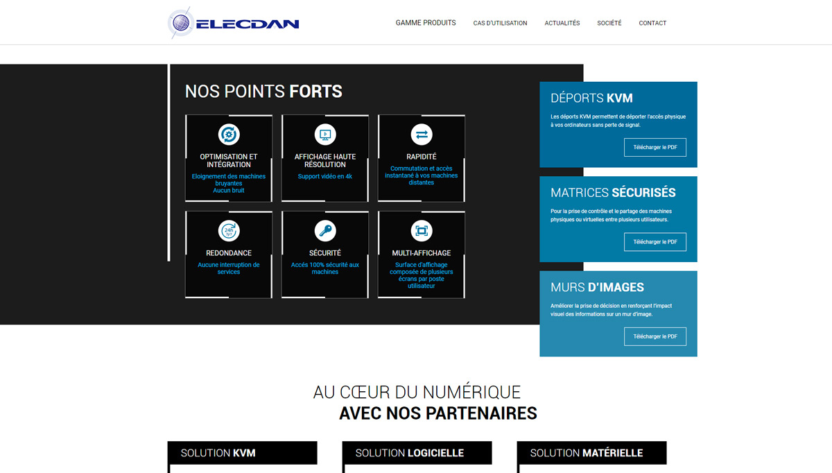 ELECDAN SOLUTIONS Preview Capture Site 2