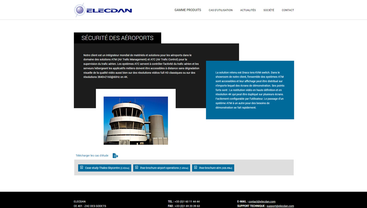 ELECDAN SOLUTIONS Preview Capture Site 4
