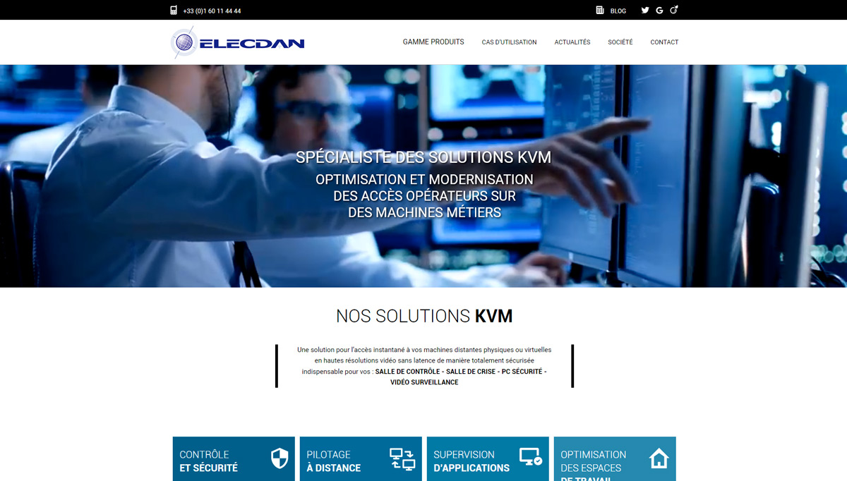 ELECDAN SOLUTIONS Preview Site Capture 1